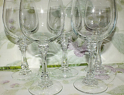 AMERICAN STEMWARE SANIBEL WATER GOBLETS lot of 5   all EXC
