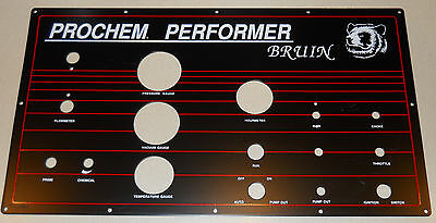 NOS, New Old Stock, Prochem Bruin Truckmount Instrument Panel, Carpet Cleaning