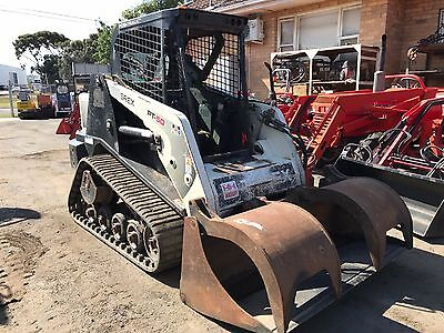 Terex PT50 Multi Terrain Loader with rubber tracks