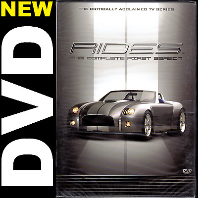 Rides: The Complete First Season 1 (6-Disc DVD, 1 or 5 movie Lots) TLC TV Series