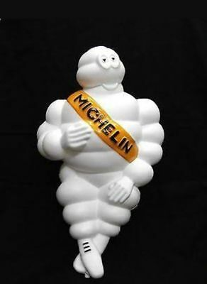 "2 Michelin Man Doll Figure  17"" Tire  There Is Fire Free Shipping  Free Hat"