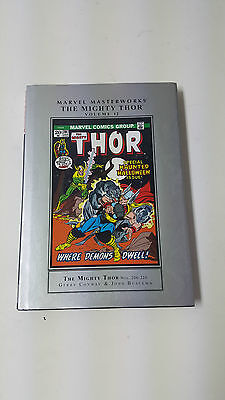 Mighty Thor Marvel Masterworks Vol 12 by Buscema & Conway HC 2013 Marvel OOP