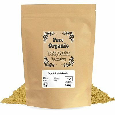Certified Organic Triphala Powder
