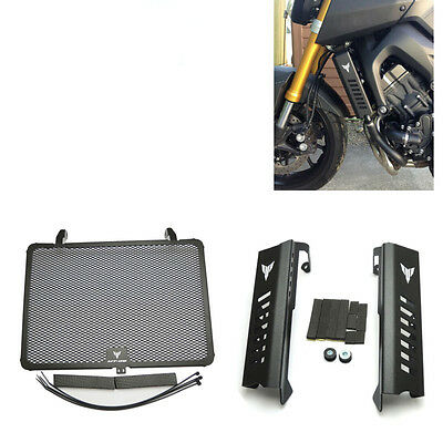 Radiator Grill Guard Side Covers Protector for Yamaha MT09 MT-09 FZ-09 2014-2017