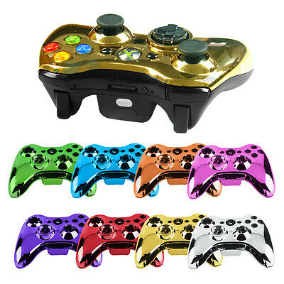 Wireless Controller Shell Case Bumper Thumbsticks Buttons Game for Xbox 360 BS