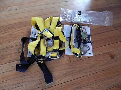 Full-Body Safety Harness with 6ft. shock Lanyard