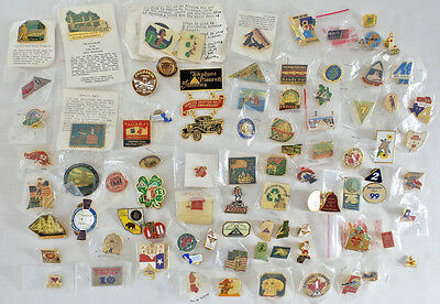 Telephone Pioneers of America Lapel Pin Collection 85 Pins USA & Canada