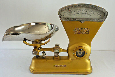 Antique DAYTON 5 lb General Store Dry Goods Candy Scale Model 167