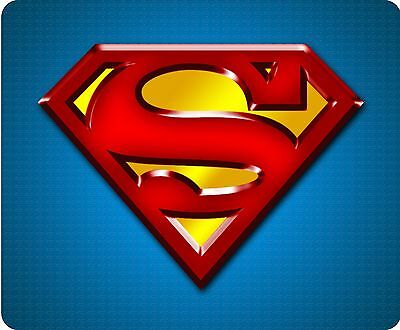 Superman S Logo Full Colour Mousemat