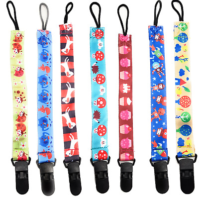 Dummies Clips ,Holder/Dummy/Soother/Pacifier/chain boys girls baby infant strap
