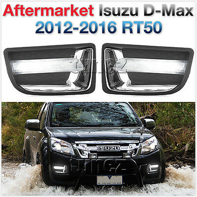 LED Daytime Running Light DRL Fog Light Isuzu D-Max RT 50 2013 2014 2015 2016 E
