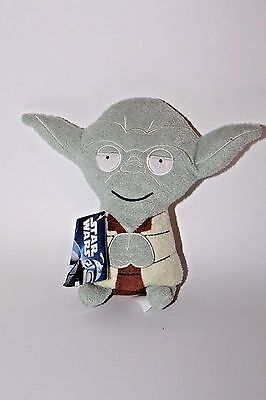 STAR WARS LUCASFLIMS comic images PLUSH STUFFED YODA NEW WITH TAGS BEAN BAG 7""