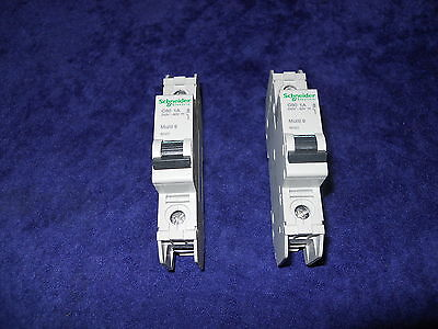 Lot Of 2 New Schneider Electric 60101 Circuit Breaker Multi 9 C60