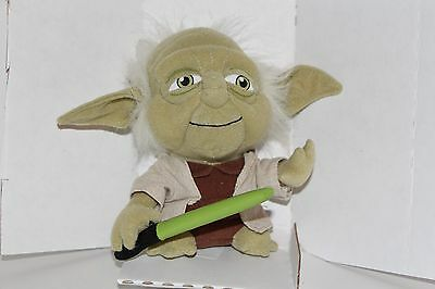 "STAR WARS LUCASFLIMS comic images PLUSH STUFFED SUPER DEFORMED YODA 7"" NEW"