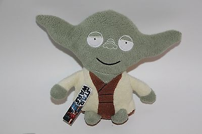 STAR WARS comic images PLUSH STUFFED YODA open arms NEW WITH TAGS BEAN BAG 7""