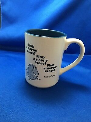 "Finding Nemo: Dory ""Find A Happy Place"" Coffee Mug By Hallmark: DIsney"