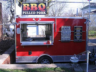 used concession trailer
