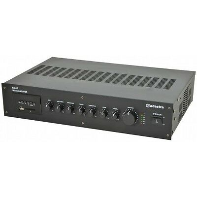 Adastra RM SERIES 5 CHANNEL 100V LINE MIXER AMP