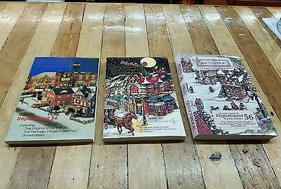 ANTIQUE PRICE GUIDE BOOKS GREENBOOK for DEPARTMENT 56 VILLAGES with 1st Edition