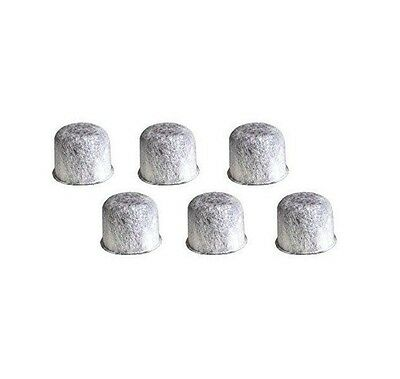 6 Pack Replacement Charcoal Water Filters,Fits GE Coffee Makers
