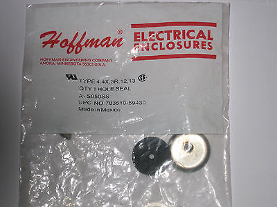 """new in factory bag Hoffman stainless steel hole plug A-S050SS 7/8"""" hole 1/2"""" k.o"""