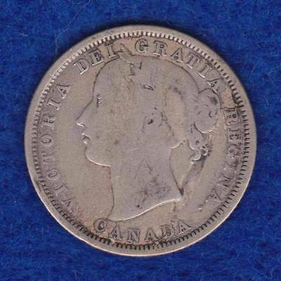 1858 Canada 20 Cents  ---  Ndy03