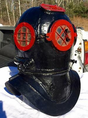 Very Early Antique Diving Helmet