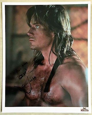 KEVIN SORBO Authentic SIGNED 8x10 PHOTO Autographed Auto HERCULES Andromeda