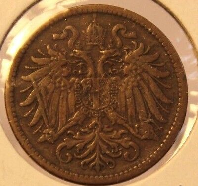 1911 Austria 2 Heller Coin and Holder Thecoindigger World Coins Estates