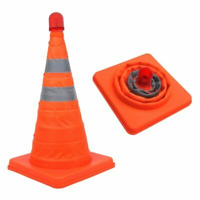 ProPlus Safety Cone Collapsible with LEDs 540319 Road Traffic Signs Portable