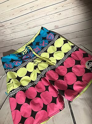 QUIKSILVER Mens Colorful Boardshorts Swim Surf Trunks Men SIZE 34 Board Shorts