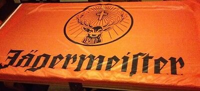 """JAGERMEISTER 96""""x57""""  BANNER FLAG MADE IN GERMANY"""