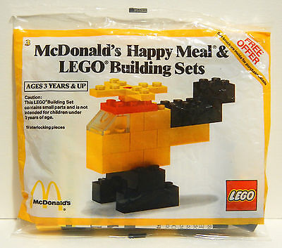 Lego McDonald's Happy Meal Helicopter  Set 1914 / 195012 - SEALED