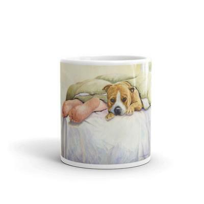 """Amstaff Feet"" American Staffordshire Terrier 11oz Coffee Mug"