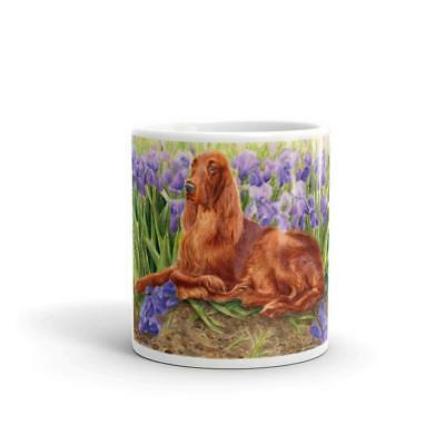 """Iris Setter"" Irish Setter 11oz Coffee Mug"