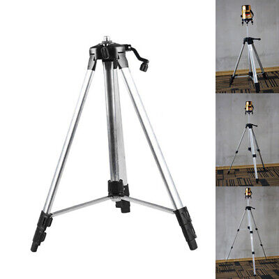 Carbon Tripod 110/150cm Aluminum With 5/8 Adapter For Laser Level Adjustable