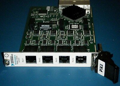 NI PXI-8433/4, 4ch Isolated RS485 RS422, National Instruments *Tested*