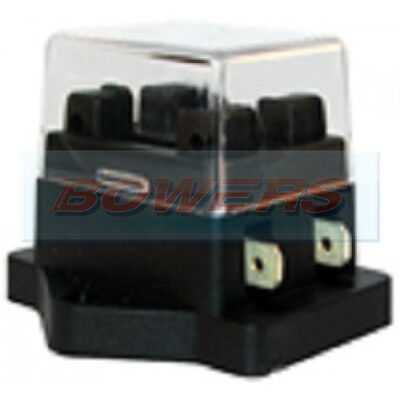 12V 24V Volt 2 Way Heavy Duty Standard Blade Fuse Box Holder Kit Car Van Marine