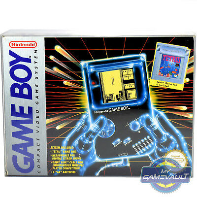 Game Boy Box Protector Original Tetris Console DMG01 0.5mm Plastic Display Case