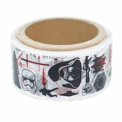 Japan Disney Star Wars White Masking Tape Japanese Sticky Washi Paper Roll Art