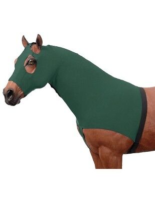 Tough-1 Mane Hood 100% Spandex Sculpted XL Hunter Green 65-9173