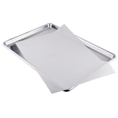Bleached White Parchment Paper Baking Sheets Pan Liner 12x16 100 Pack
