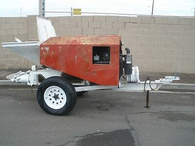 Maco C-30 Concrete / Grout Pump In Ex. Working Condition