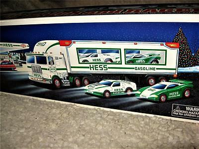 Hess 1997 Toy Truck And 2 Racers Complete Mib