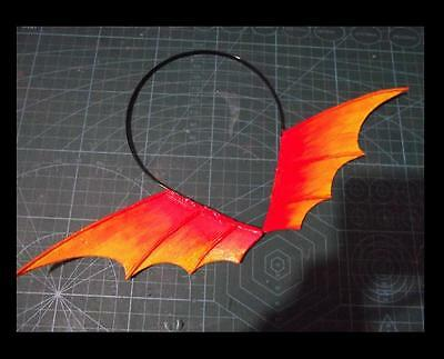 Anime Cosplay Props.Pet Shop of Horrors.Red Dragon.Ear Hair Hoop.Earl D