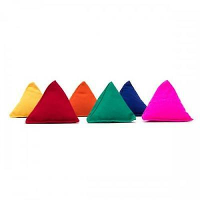 6 Juggle Dream Tri-It pyramid bean bags juggling and throwing Tri-Its £1.67 each