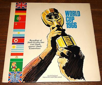 WORLD CUP 1966 UK 2x DOUBLE LP ENGLAND GERMANY RUSSIA PORTUGAL ARGENTINA KOREA
