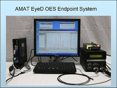 AMAT EyeD OES Stand-Alone Endpoint System - Verity SD1024DL Spectrometer