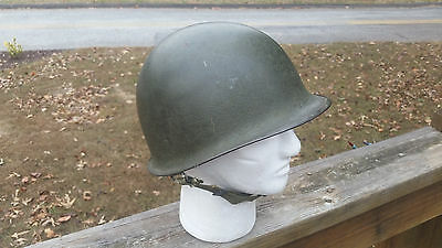 WW2 WWII US U.S. M1 Helmet,Rear Seam,Swivel Bale,Army,Original,Military,Steel