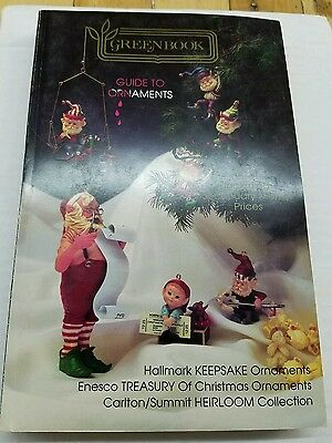 ANTIQUE PRICE GUIDE TO ORNAMENTS - Hallmark Enesco Heirloom- 1991 2nd Edition